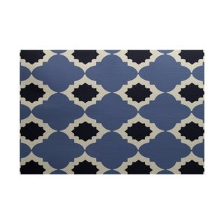 Medina Geometric Print Rug (5' x 7')