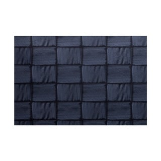Basketweave Geometric Print Rug (5' x 7')