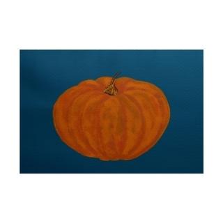 Li'l Pumpkin Holiday Print Rug (5' x 7')