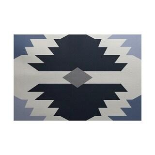 Mesa Geometric Print Rug (5' x 7')