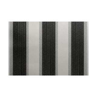 Striate Stripe Print Rug (5' x 7')