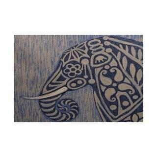 frennky Animal Print Rug (3' x 5')
