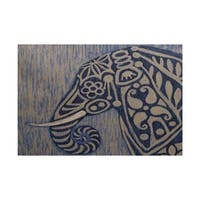 frenzy Animal Print Rug - 3' x 5'