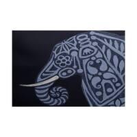 Inky Animal Print Rug (3' x 5')
