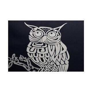 Hootee Animal Print Rug (3' x 5')