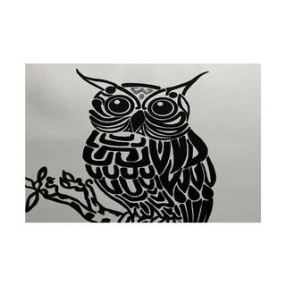 Hootie Animal Print Rug (4' x 6')
