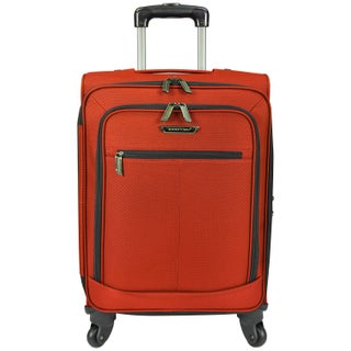 Traveler's Choice Lightweight 22-inch Carry On Expandable Spinner Suitcase (Option: Orange)