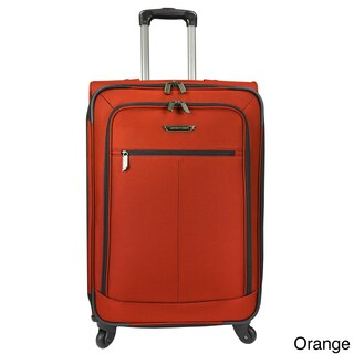 Traveler's Choice Lightweight 27-inch Expandable Spinner Upright Suitcase