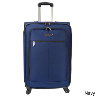 Traveler's Choice Lightweight 27-inch Expandable Spinner Upright Suitcase (Option: Navy)