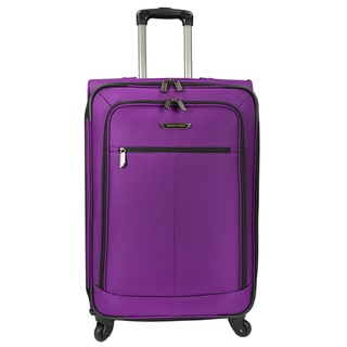 Link to Traveler's Choice Lightweight 27-inch Expandable Spinner Upright Suitcase Similar Items in Wheeled & Checked Luggage
