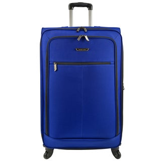Traveler's Choice Lightweight 31-inch Expandable Spinner Upright Suitcase