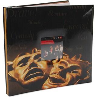 Sport & Hobby Post Bound Album 12inX12inDrama Mask