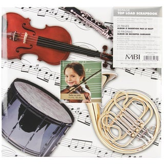 Sport & Hobby Post Bound Album 12inX12inMusical Instruments