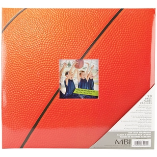 Sport & Hobby Post Bound Album 12inX12inBasketball