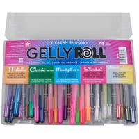 Gelly Roll Pens 74pc Gift Set