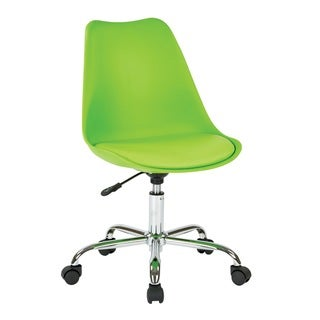 Link to OSP Home Furnishings Emerson Office Chair with Pneumatic Chrome Base Similar Items in Home Office Furniture