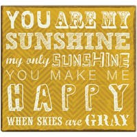 You Are My Sunshine Post Bound Scrapbook 12inX12in