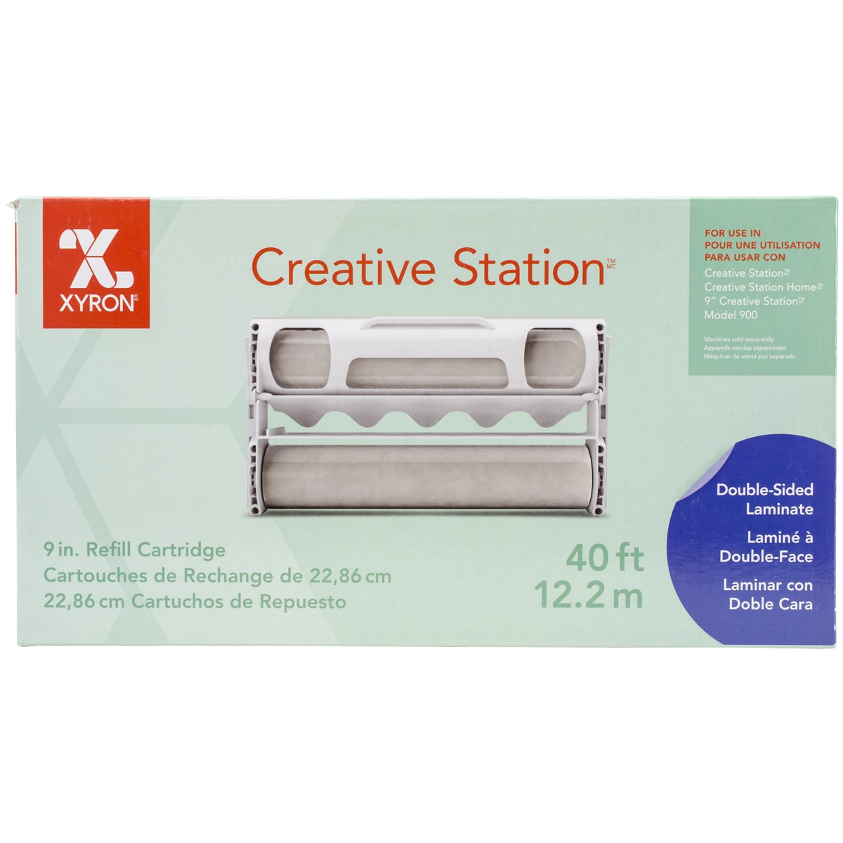 XYRON 9in Creative Station Laminate Refill Cartridge9inX4...