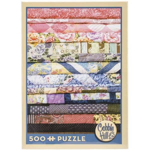 Jigsaw Puzzle 500 Pieces 10inX14inQuilts