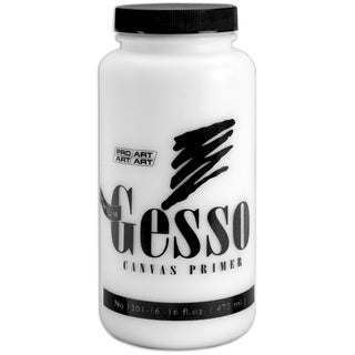 Premium Gesso Canvas Primer16oz