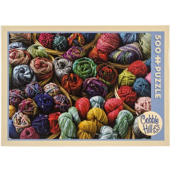 Jigsaw Puzzle 500 Pieces 10inX14inBalls Of Yarn