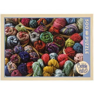 Jigsaw Puzzle 500 Pieces 10inX14inBalls Of Yarn