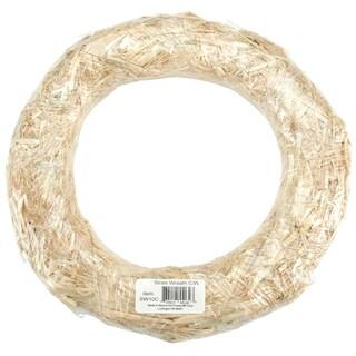 Straw Wreath 24inNatural