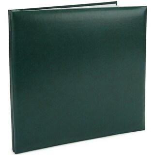 Leatherette Post Bound Album 12inX12inGreen