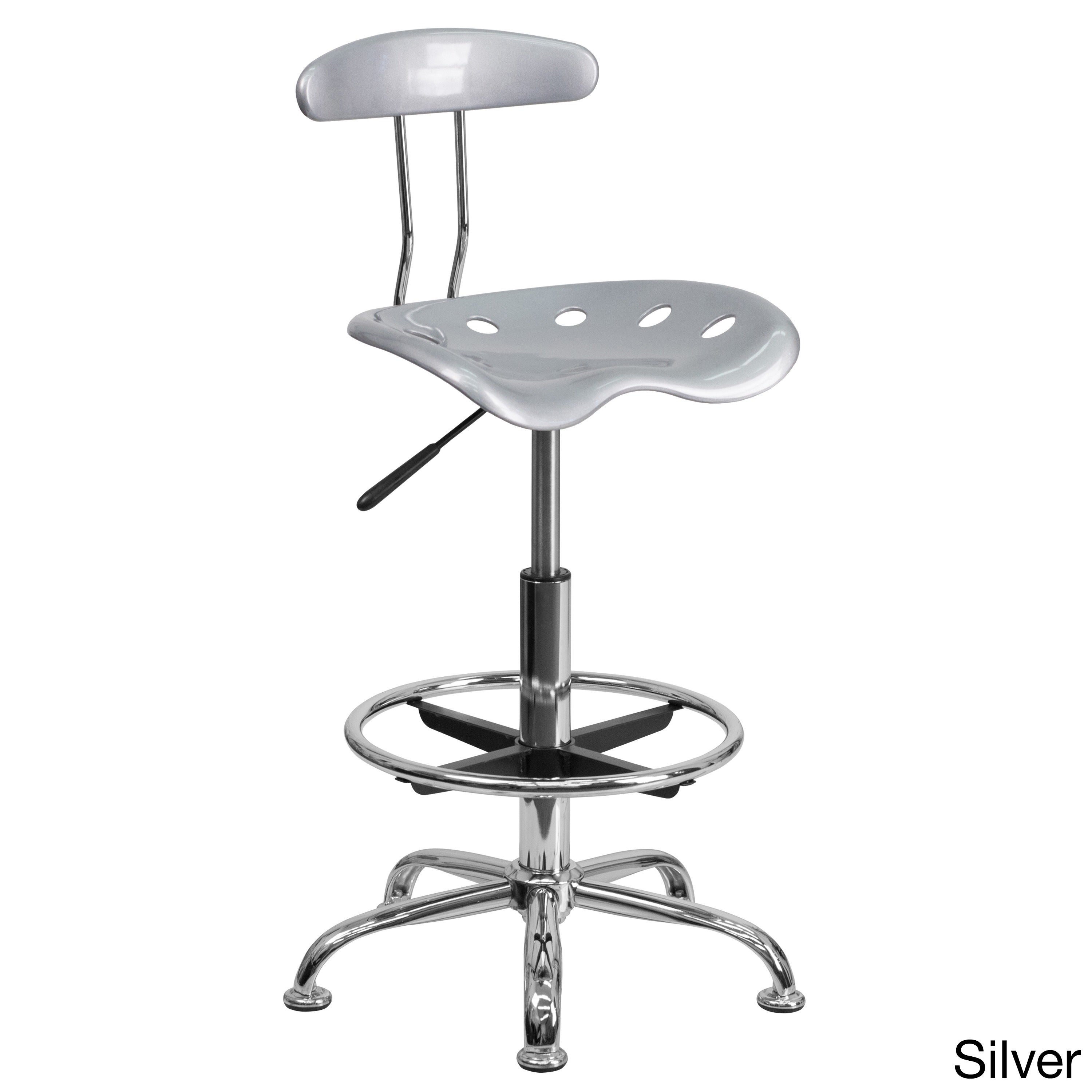 Good 41 Inch Adjustable Drafting Stool