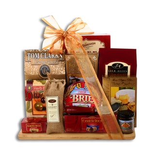 Link to Alder Creek Upgraded A Cut Above Gift Basket Similar Items in Gourmet Food Baskets