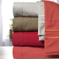 Incredibly Soft 4-piece Deep Pocket Bed Sheet Set in 4 Colors