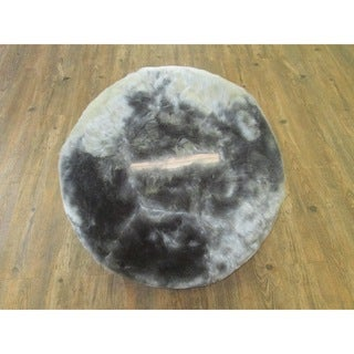 Yoga Ball With Furry Slip-Cover