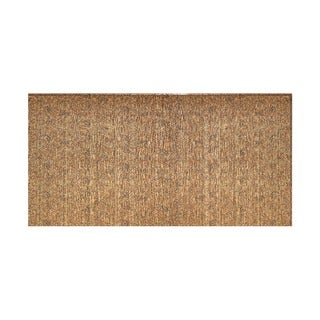Fasade Vertical Ripple Cracked Copper 4-foot x 8-foot Wall Panel