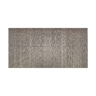 Fasade Vertical Ripple Galvanized Steel 4-foot x 8-foot Wall Panel (2 options available)