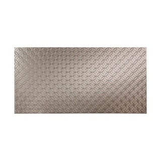 Fasade Rings Galvanized Steel 4 x 8 ft. Wall Panel