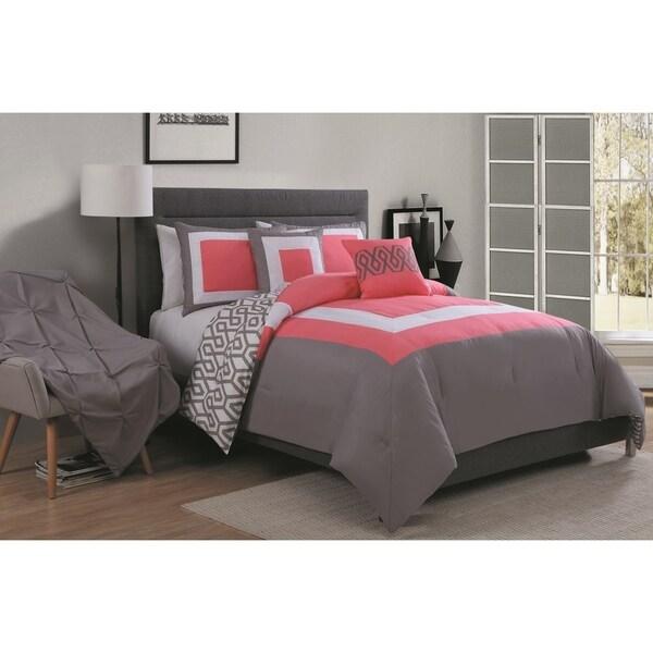 Avondale Manor Parker 6-piece Comforter Set with Bonus Throw