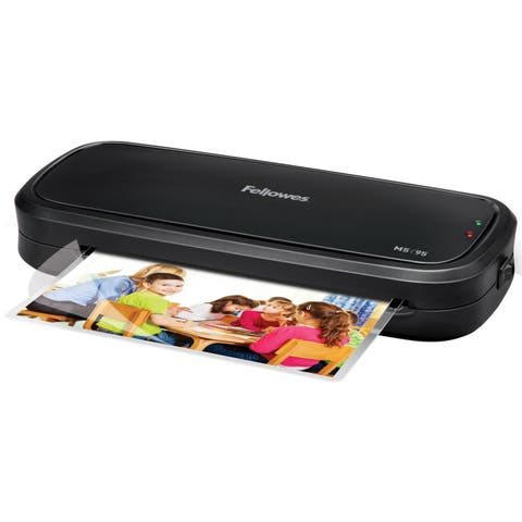 Fellowes M5 -95 Laminator with Pouch Starter Kit
