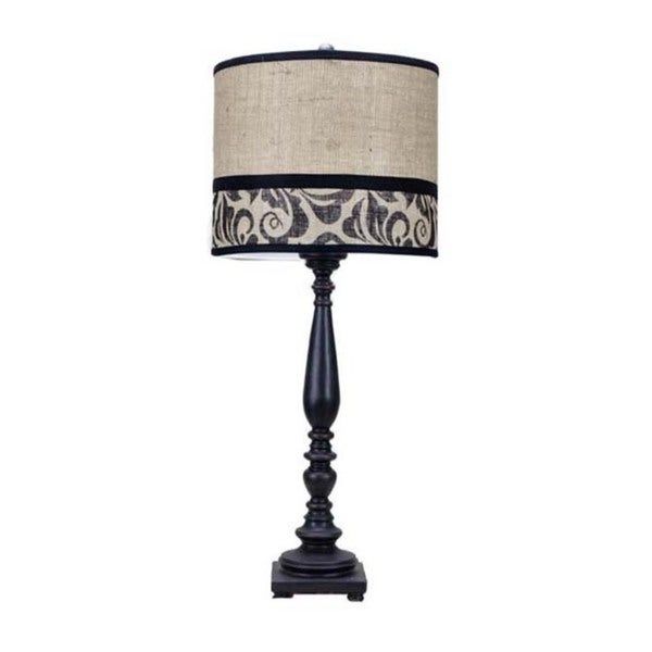 Somette Liberty Black 29-inch Table Lamp