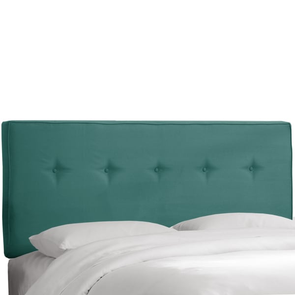 Skyline Furniture Premier Tidepool Five Button Headboard