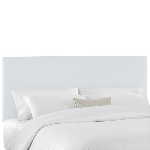Skyline Furniture Duck White Upholstered Headboard