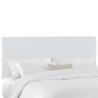 Duck White Upholstered Headboard- Skyline Furniture
