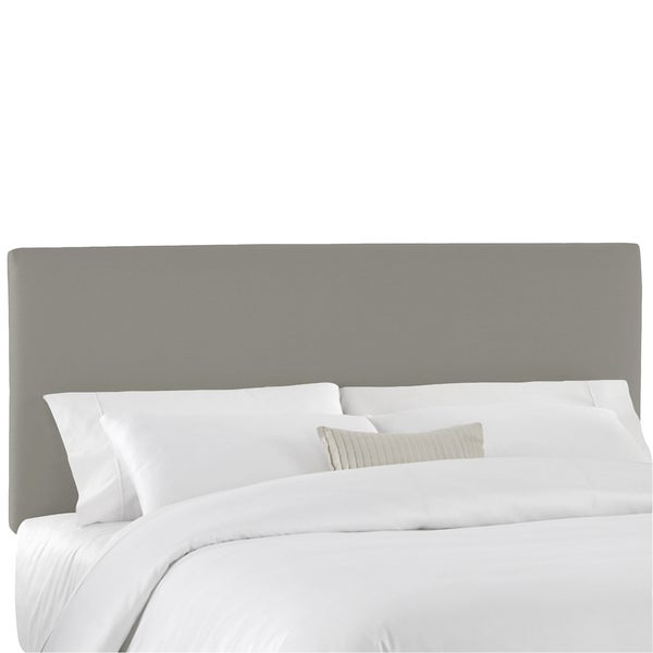 Skyline Furniture Duck Grey Upholstered Headboard