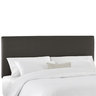 Skyline Furniture Duck Charcoal Upholstered Headboard