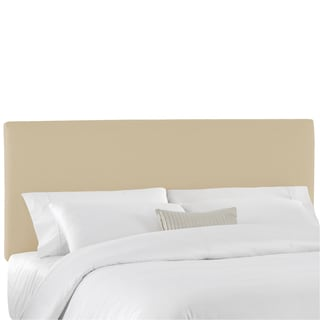 Skyline Furniture Duck Natural Upholstered Headboard