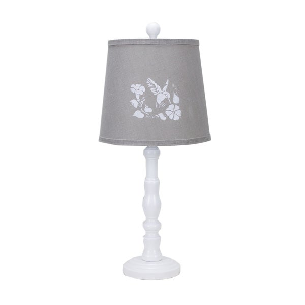 Somette Townsend White with Hummingbird Shade