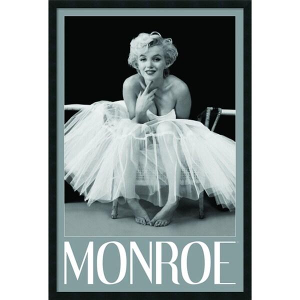 Framed Art Print Marilyn Monroe - Ballerina by Milton H. Greene 26 x ...