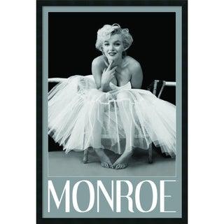 Framed Art Print Marilyn Monroe - Ballerina by Milton H. Greene 26 x 38-inch