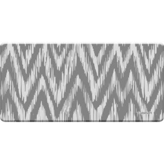 Cuisinart Anti-fatigue Chevron Ikat Grey Kitchen Mat (20 x 41)