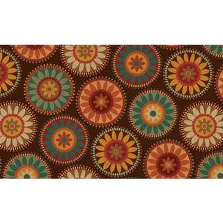 Polytop Harvest Medallions Multi Door Mat (18 x 30)