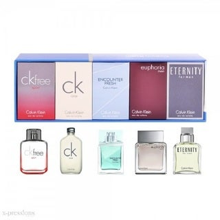 Calvin Klein Men's 5-piece Mini Variety Gift Set